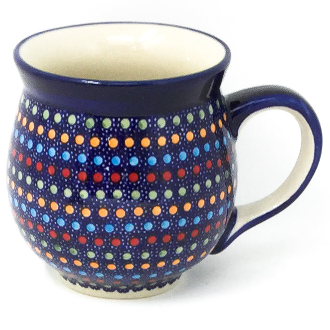 Gentlemen's Cup 16 oz in Multi-Colored Dots