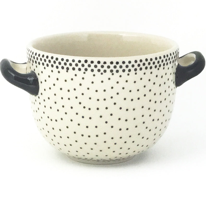 Bouillon Cup 16 oz in Black Elegance