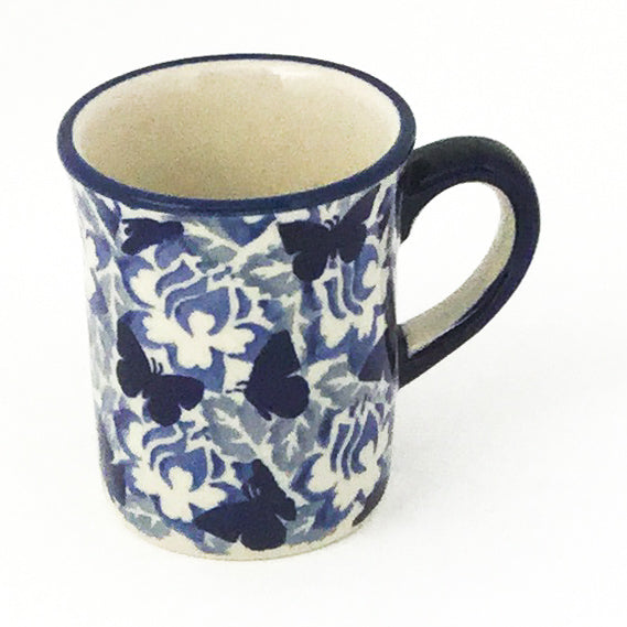 Espresso Cup 4 oz in Blue Butterfly
