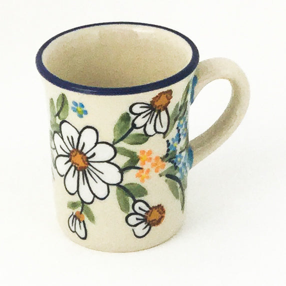 Espresso Cup 4 oz in Spectacular Daisy