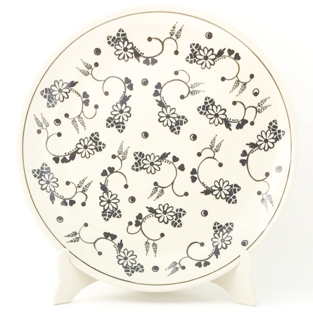 "Dinner Plate 11"" in Midnight Garden"
