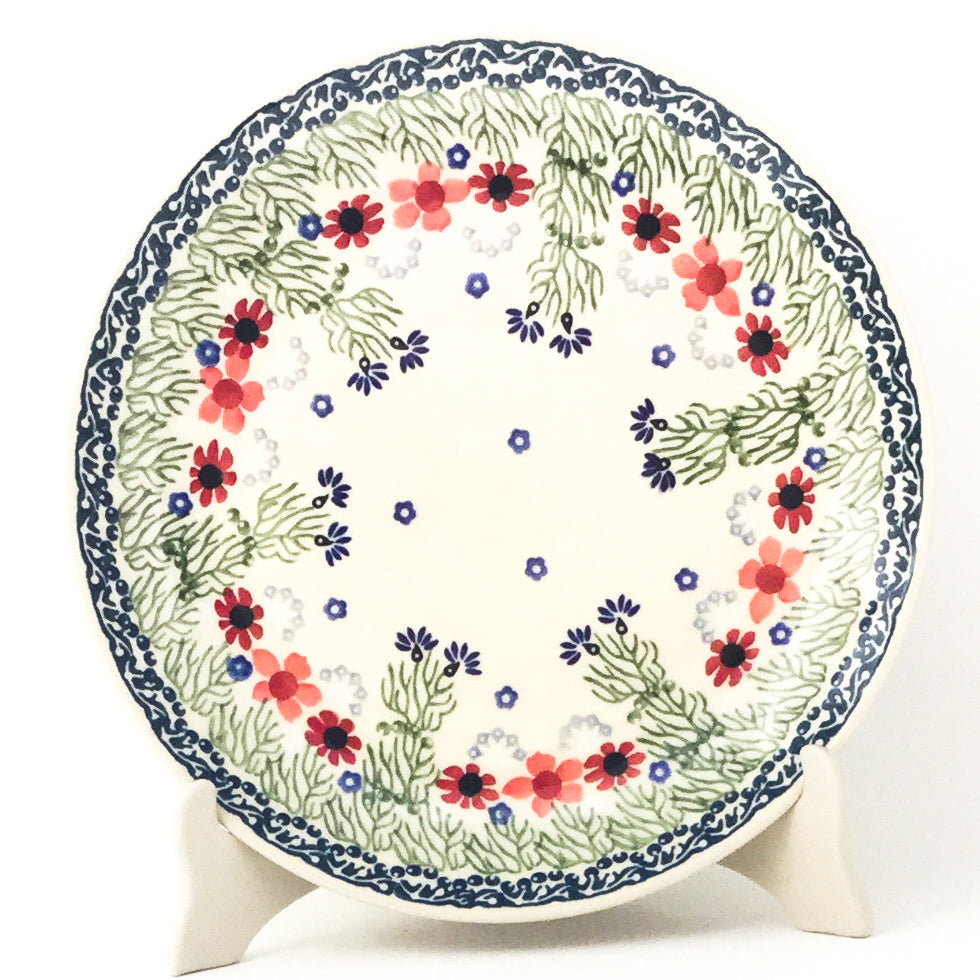 "Dinner Plate 10"" in Dill Flowers"
