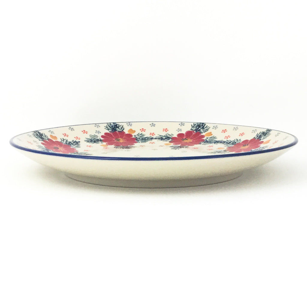 "Dinner Plate 10"" in Floral Cluster"