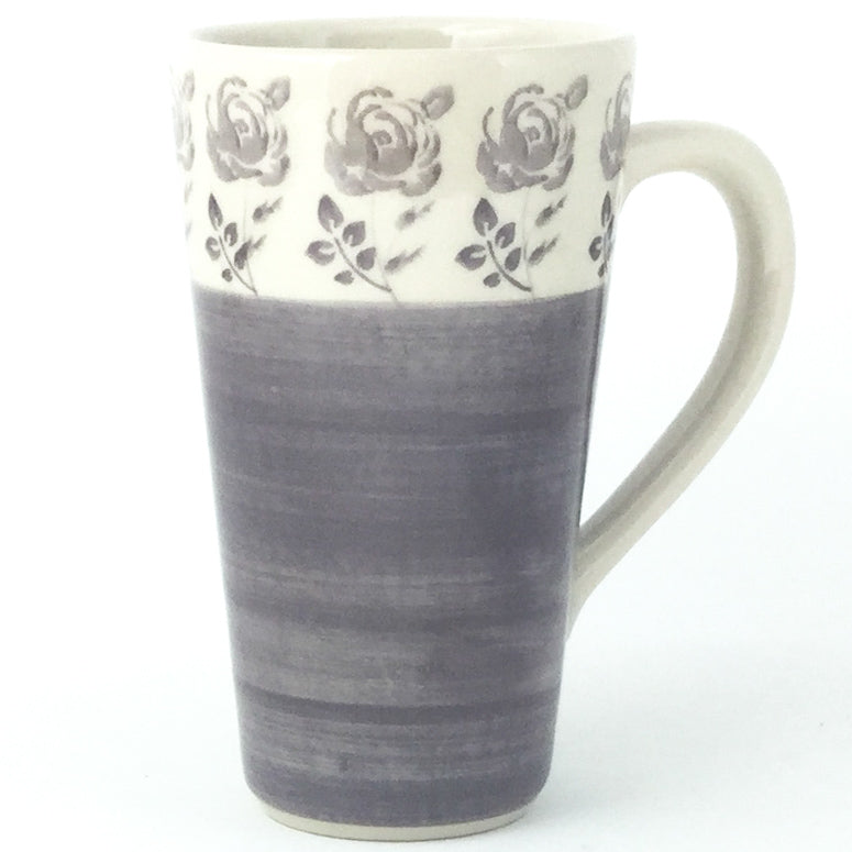 Tall Cup 12 oz in Gray Rose