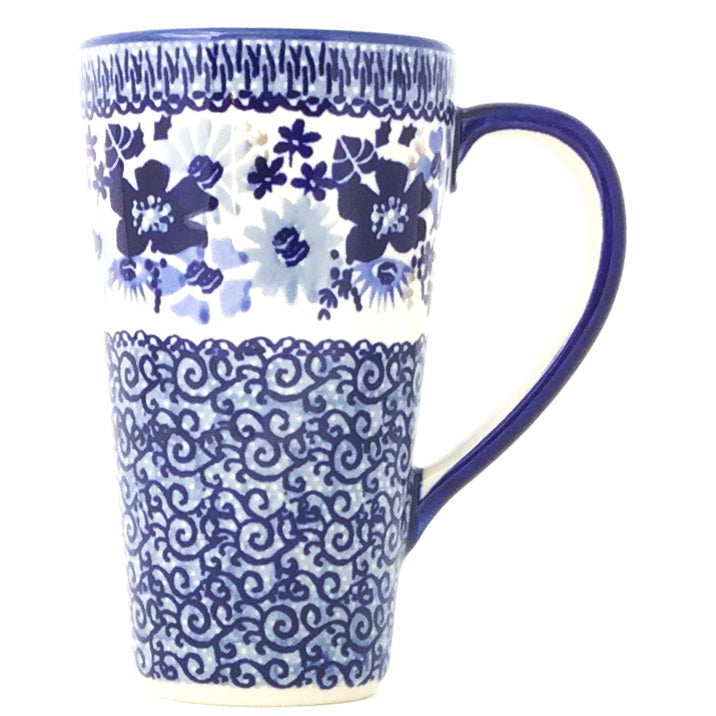 Tall Cup 12 oz in Stunning Blue