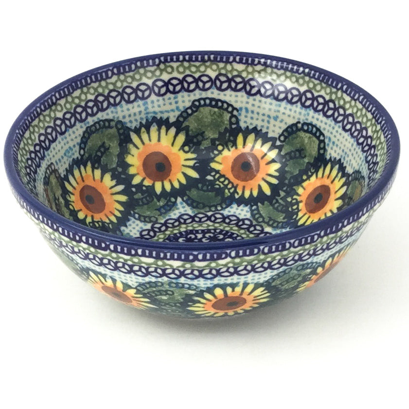 New Soup Bowl 20 oz in Sunflowers