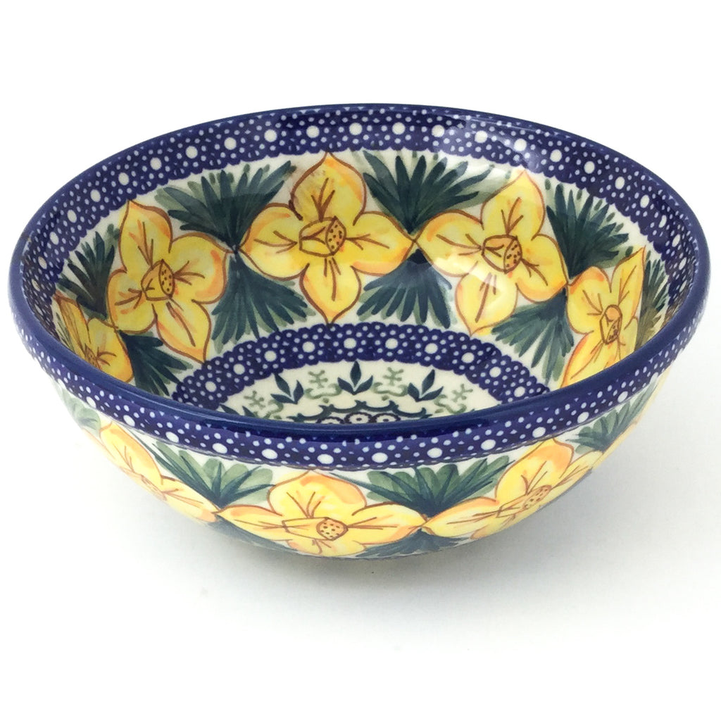 Round Bowl 32 oz in Daffodils