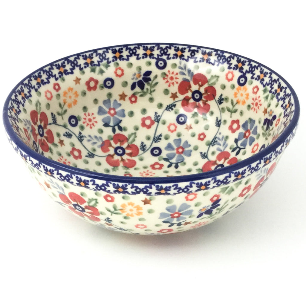 Round Bowl 32 oz in Summer Arrangement