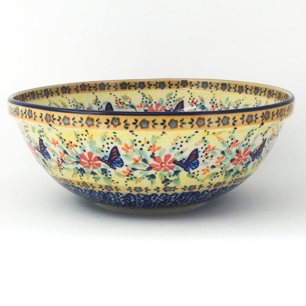 Round Bowl 64 oz in Butterfly Meadow