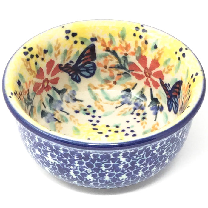 Tiny Round Bowl 4 oz in Butterfly Meadow