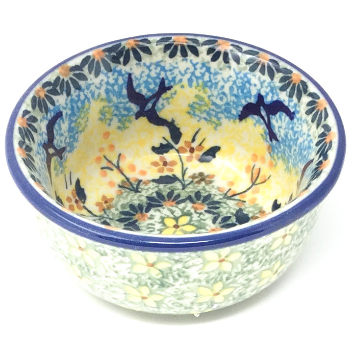 Tiny Round Bowl 4 oz in Birds