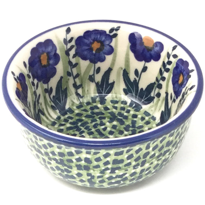 Tiny Round Bowl 4 oz in Wild Blue