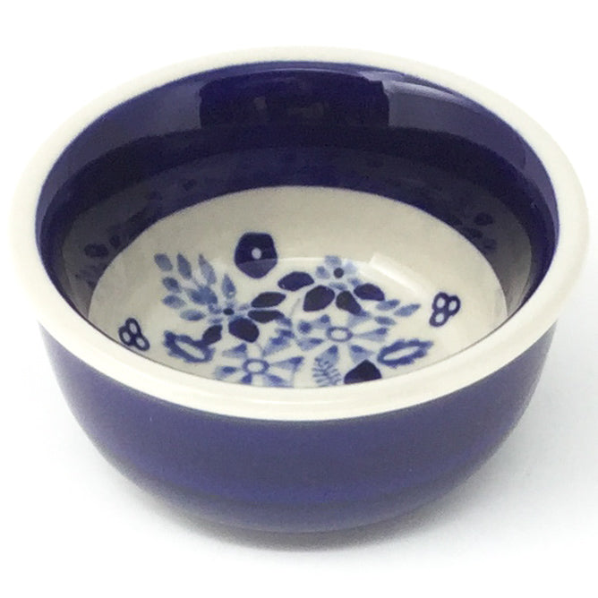 Tiny Round Bowl 4 oz in Cobalt Wedding
