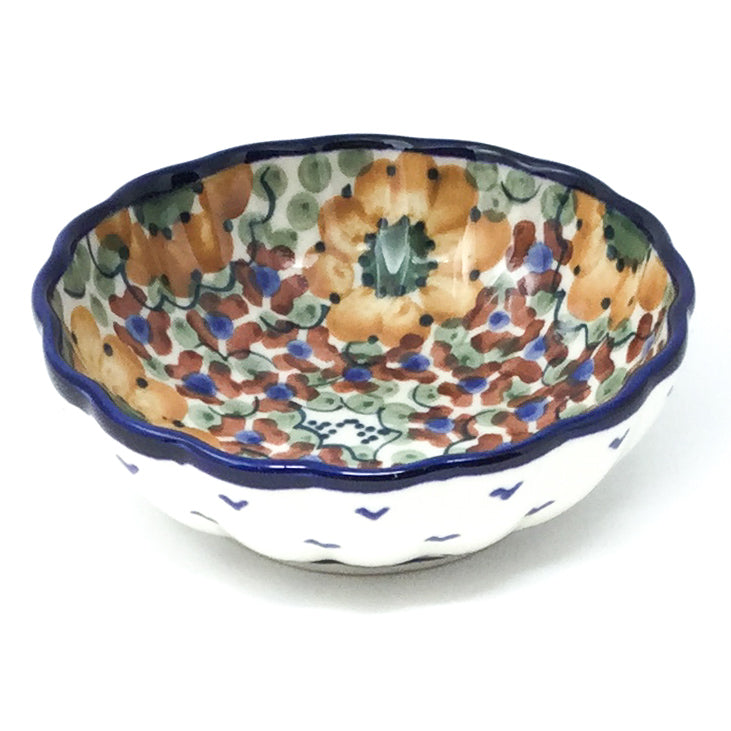 "Sm Shell Bowl 4.5"" in Fall"