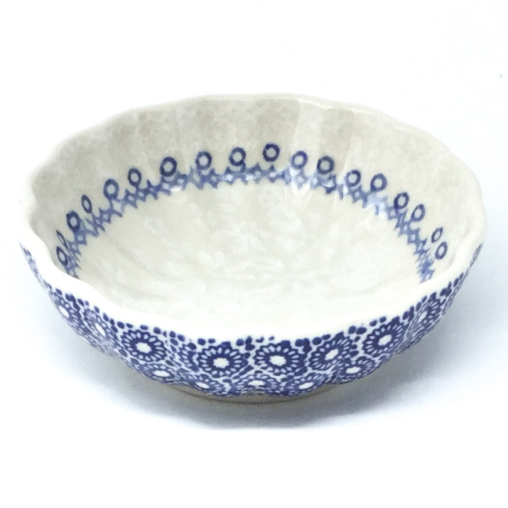 "Sm Shell Bowl 4.5"" in Delicate Blue"