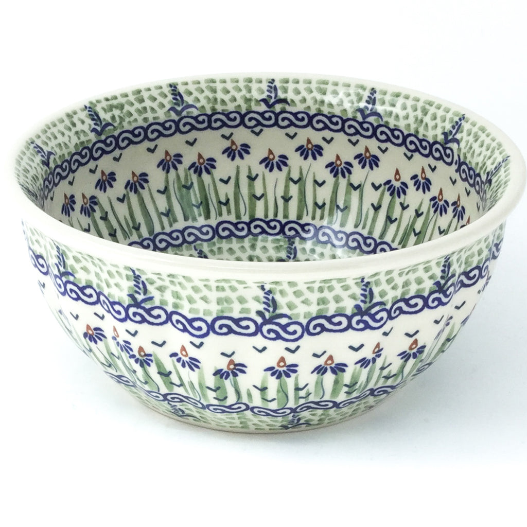 Scalloped Bowl 48 oz in Blue Iris