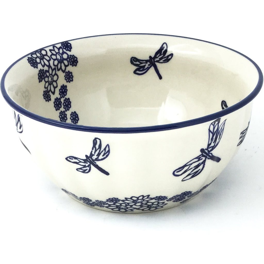 Scalloped Bowl 48 oz in Dragonfly