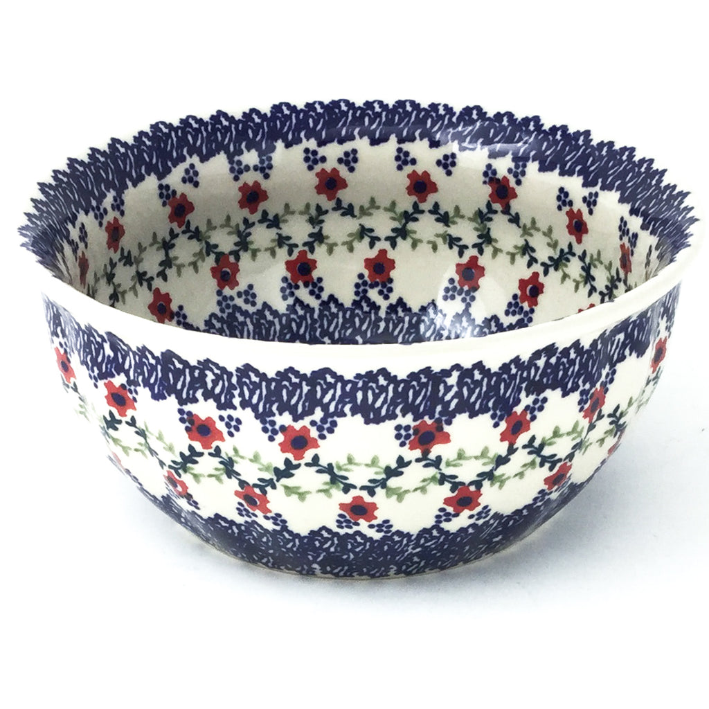 Scalloped Bowl 48 oz in Lattice