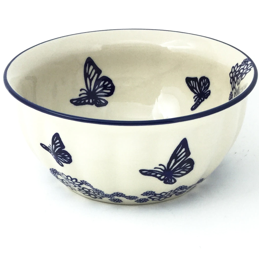 Scalloped Bowl 48 oz in Butterfly