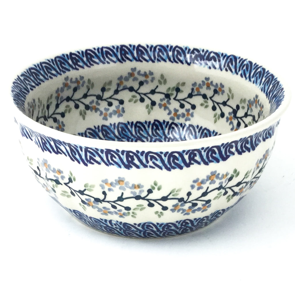 Scalloped Bowl 48 oz in Blue Meadow