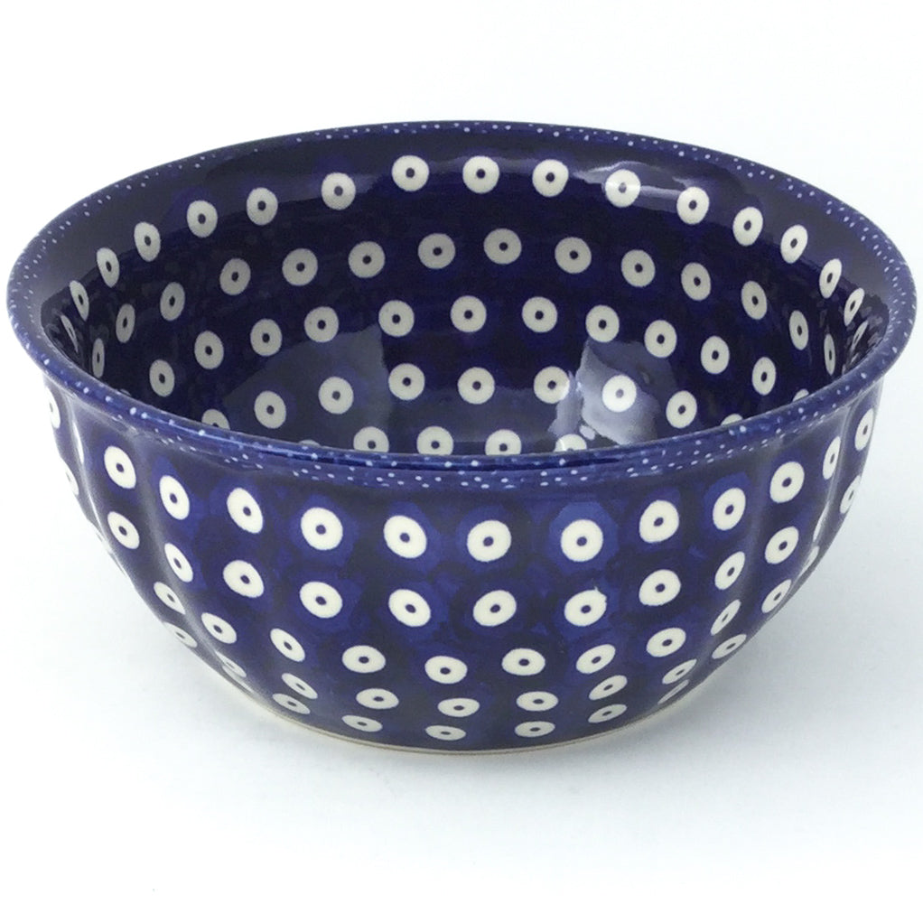 Scalloped Bowl 48 oz in Traditional Blue