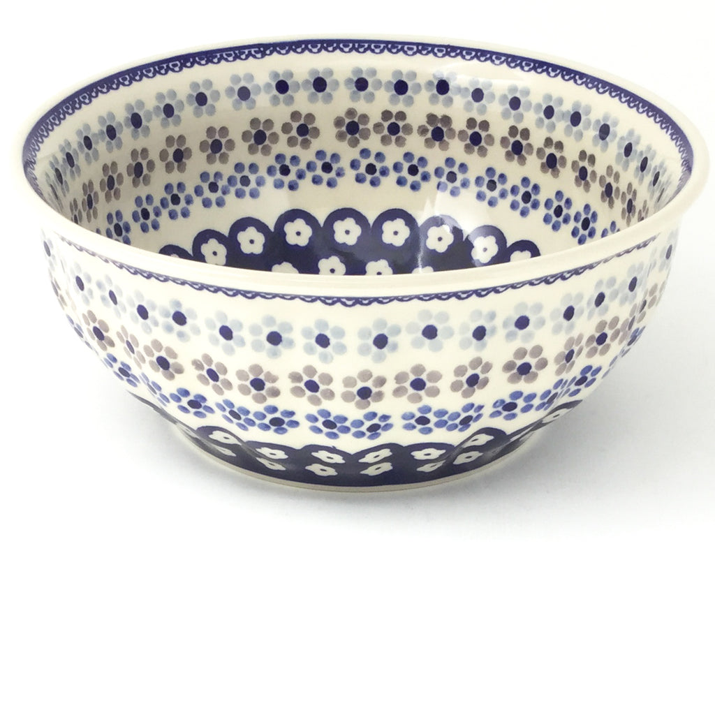 Scalloped Bowl 64 oz in Simple Daisy