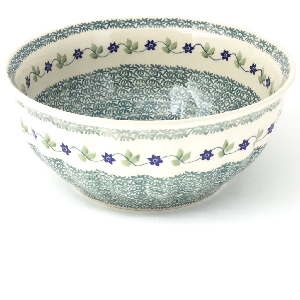 Scalloped Bowl 64 oz in Spring Valley