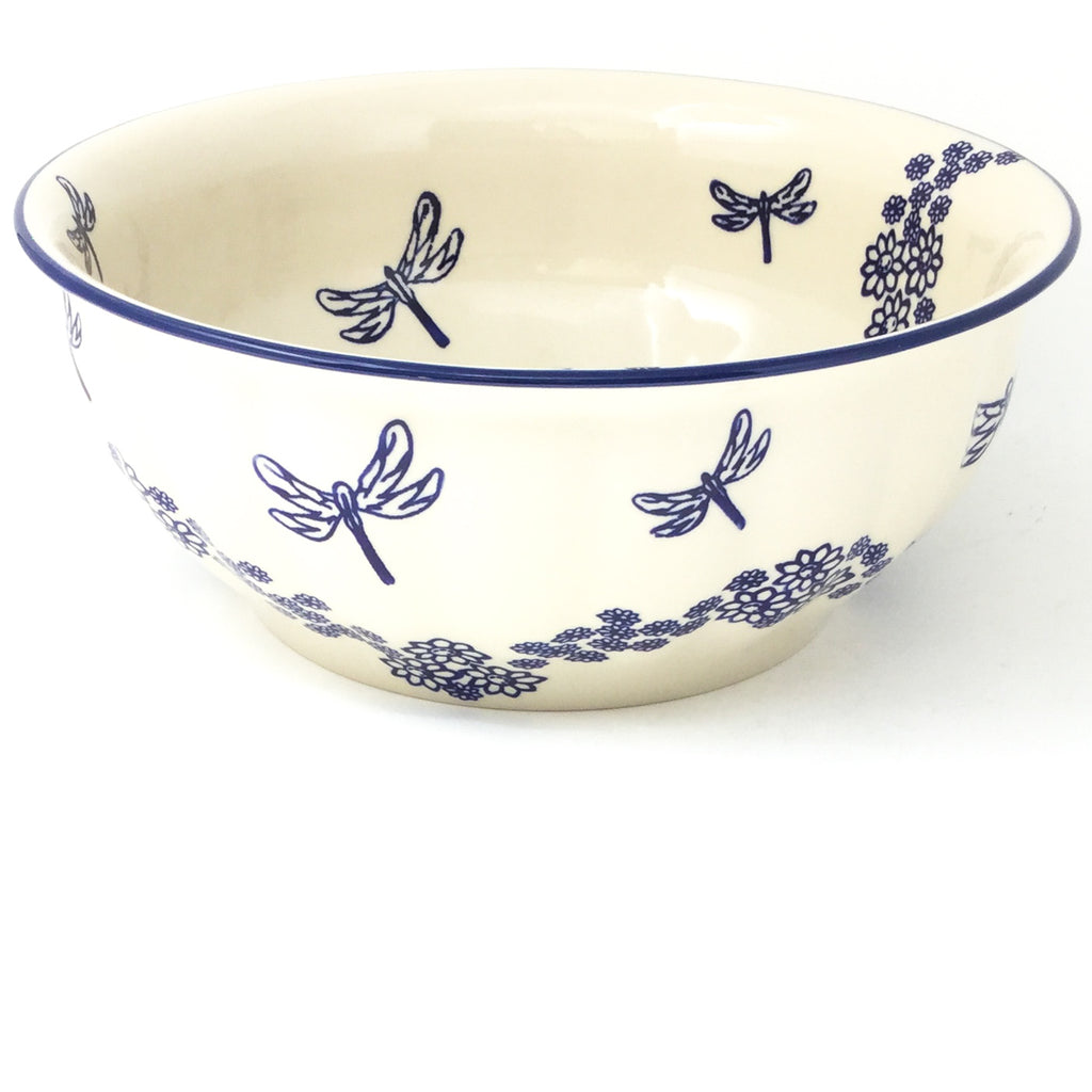 Scalloped Bowl 128 oz in Dragonfly