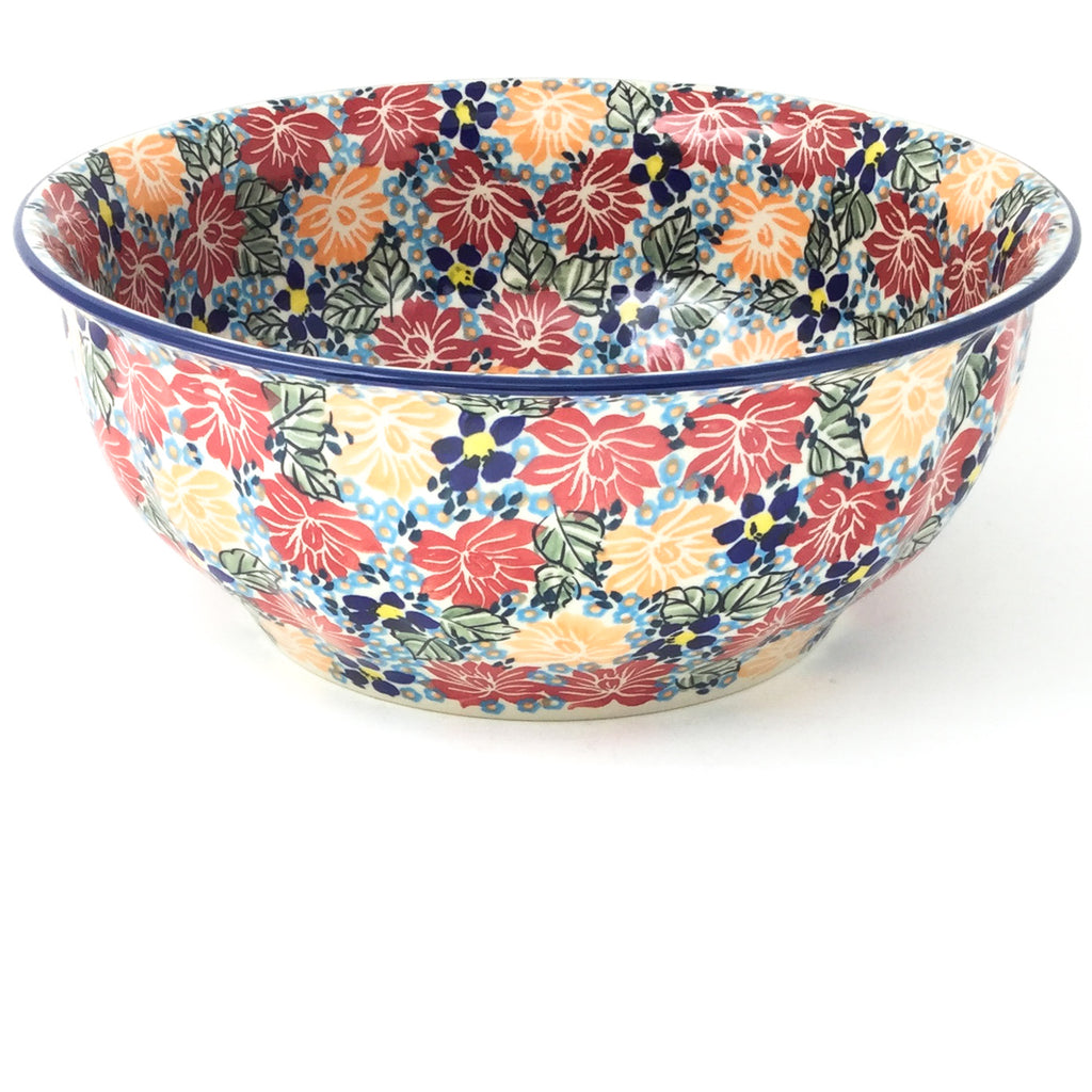 Scalloped Bowl 128 oz in Just Glorious