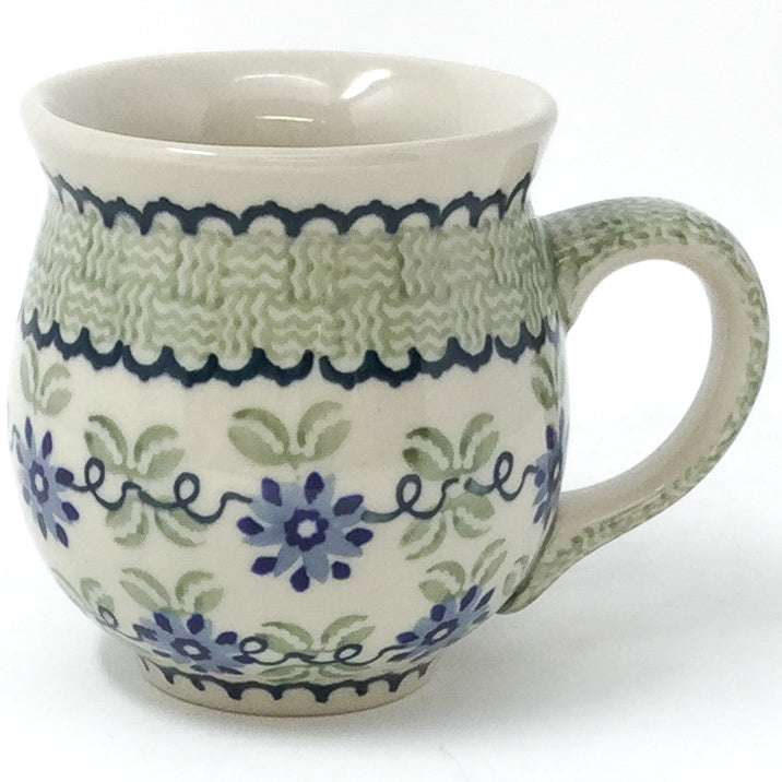 Gentlemen's Cup 16 oz in Blue & Green Flowers