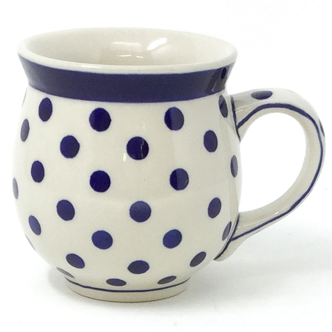 Gentlemen's Cup 16 oz in Blue Polka-Dot