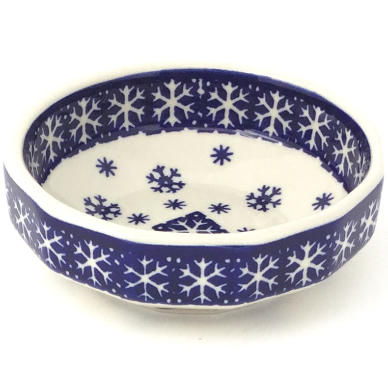 Shallow Little Bowl 12 oz in Snowflake
