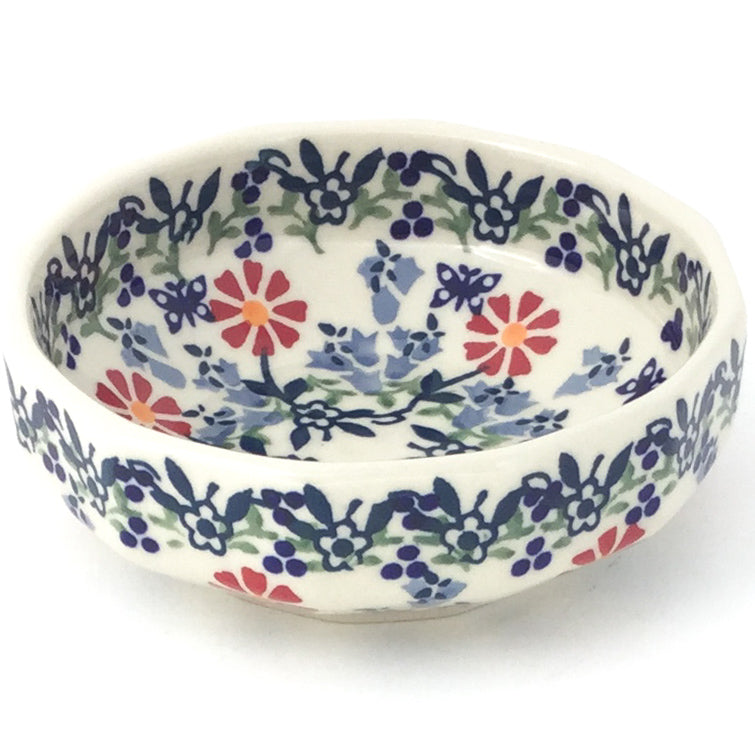 Shallow Little Bowl 12 oz in Wavy Flowers