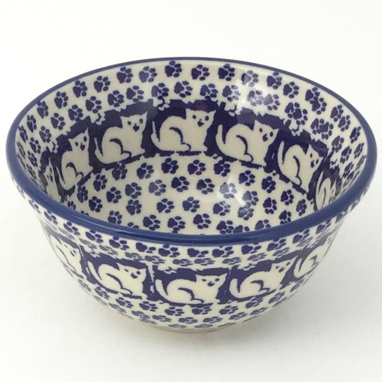 Spice & Herb Bowl 8 oz in Blue Cats