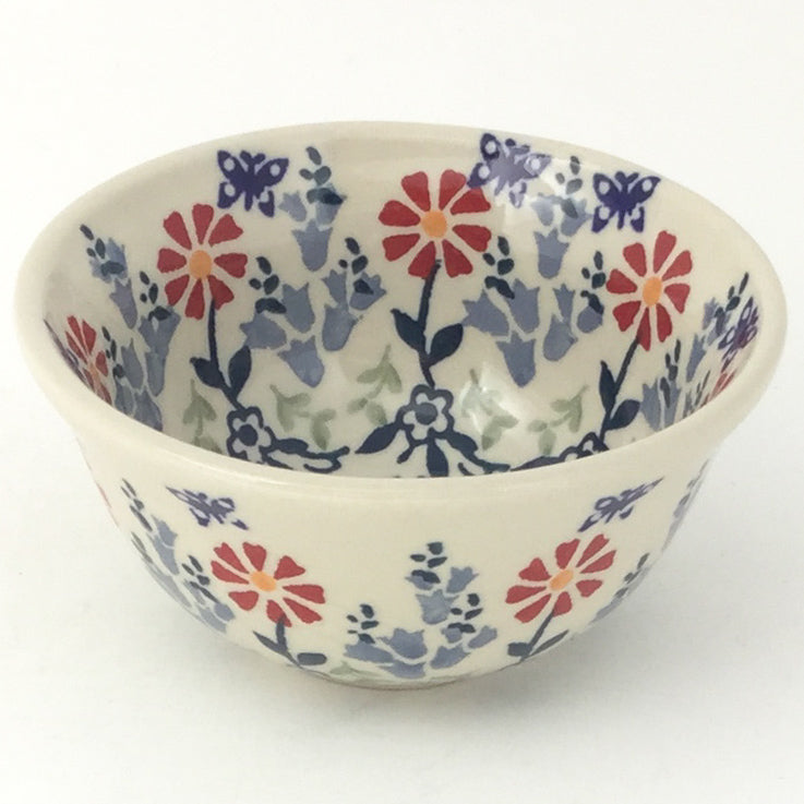 Spice & Herb Bowl 8 oz in Wavy Flowers
