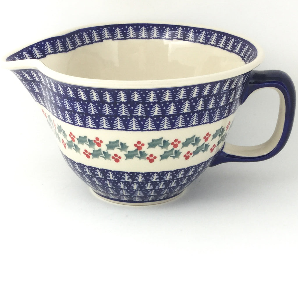 Batter Bowl 64 oz in Winter Holly