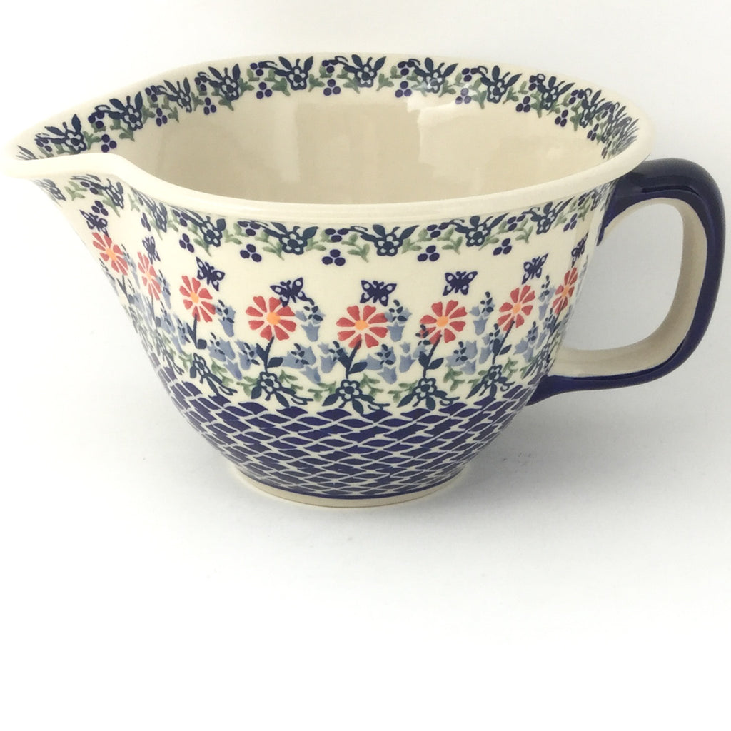 Batter Bowl 64 oz in Wavy Flowers