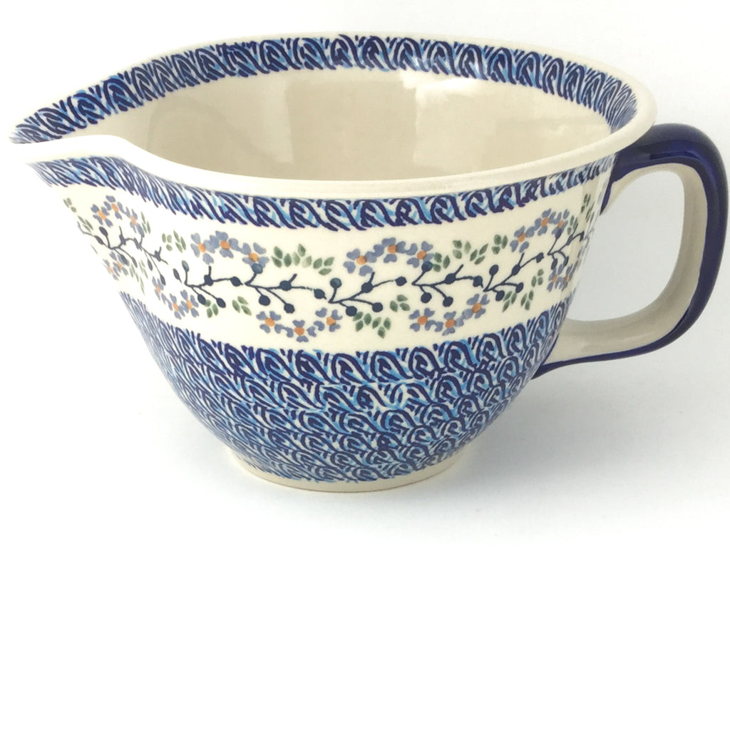 Batter Bowl 64 oz in Blue Meadow
