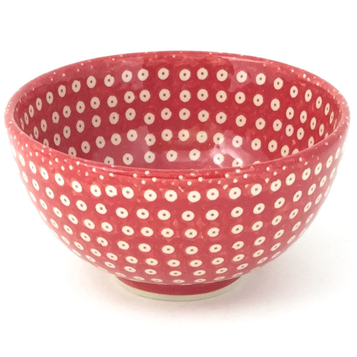 Rice Bowl 21 oz in Red Elegance