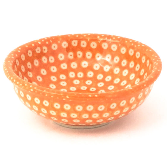 Shallow Soy Bowl in Orange Elegance