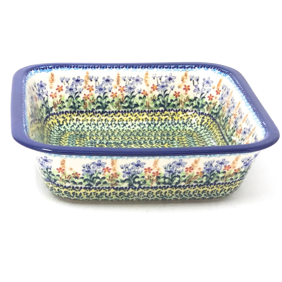 Polish Pottery Deep Square Baker