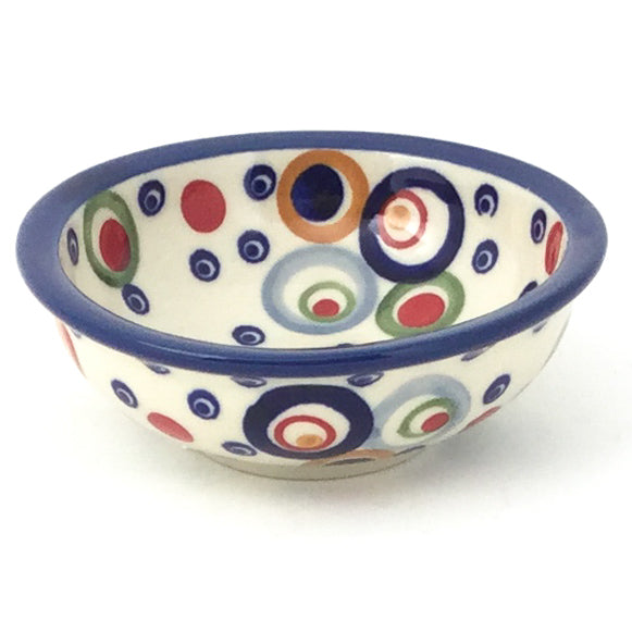 Shallow Soy Bowl in Modern Circles