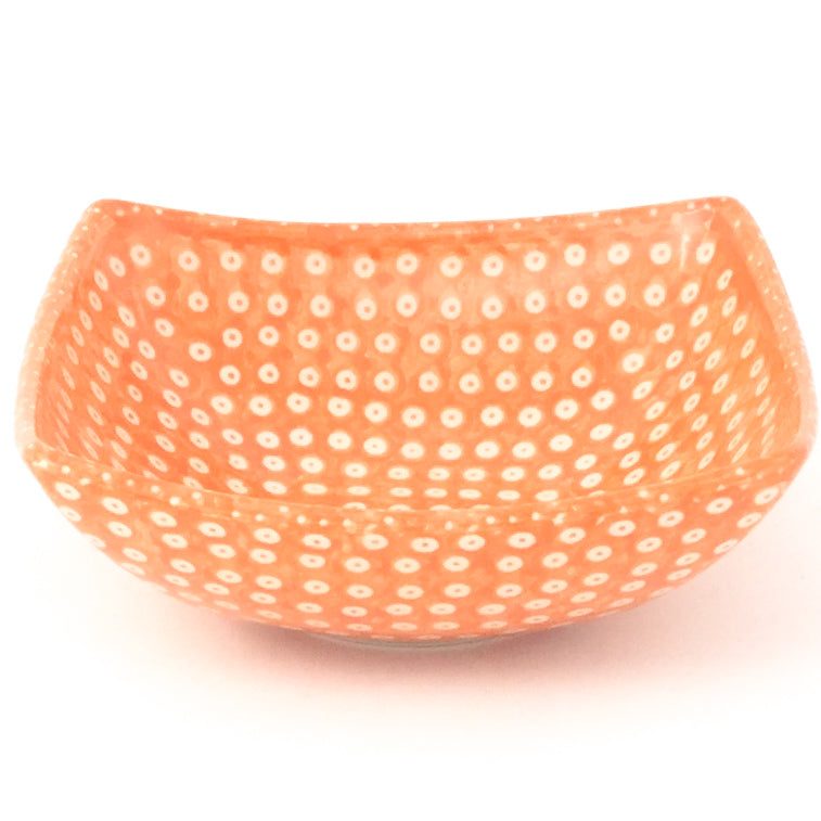 Tiny Nut Bowl in Orange Elegance