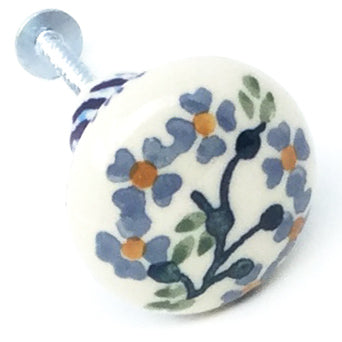 Drawer Pull in Blue Meadow