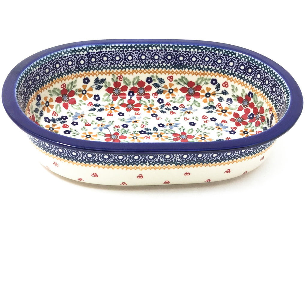 Polish Pottery Md Oval Baker