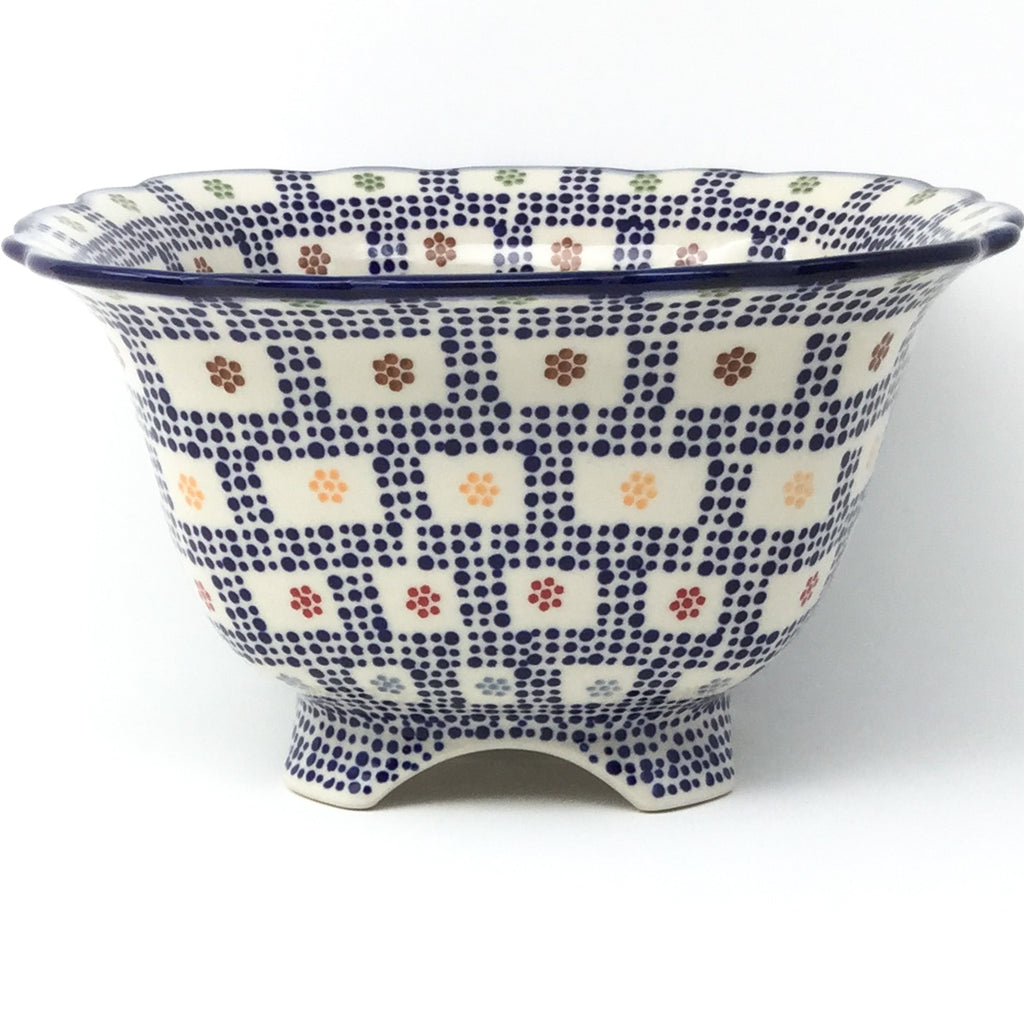 Lg Strainer 64 oz in Modern Checkers