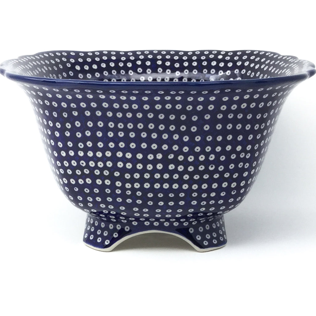 Lg Strainer 64 oz in Blue Elegance