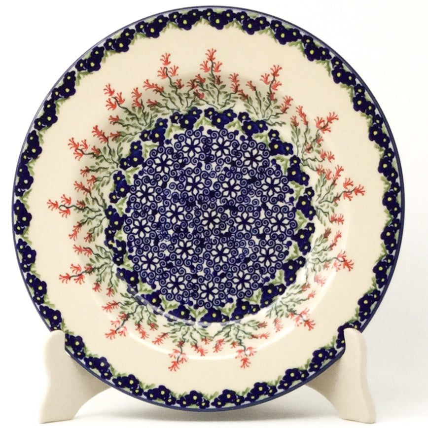 Soup Plate in Field of Flowers
