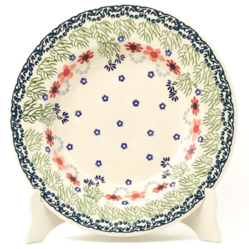 Soup Plate in Dill Flowers
