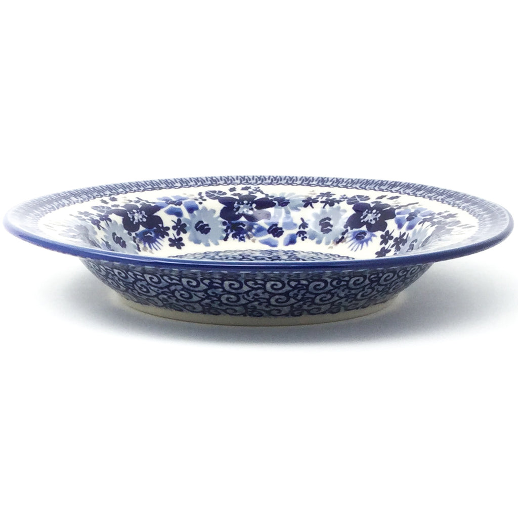 Soup Plate in Stunning Blue